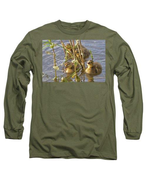 Endearing Looks Long Sleeve T-Shirt
