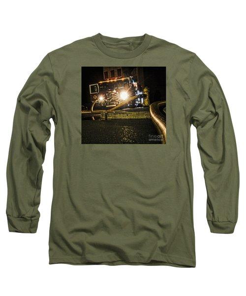 Engine 4 Long Sleeve T-Shirt by Jim Lepard