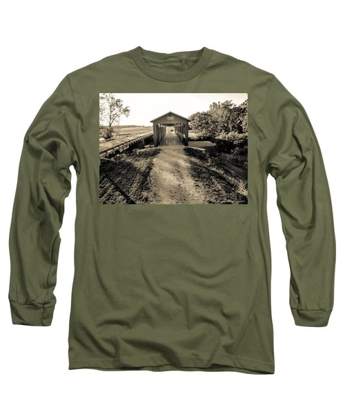Engle Mill Covered Bridge Long Sleeve T-Shirt