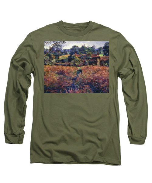 English Country Fields Long Sleeve T-Shirt