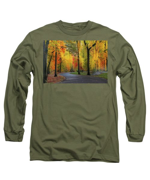 Ensconced In Autumn Long Sleeve T-Shirt