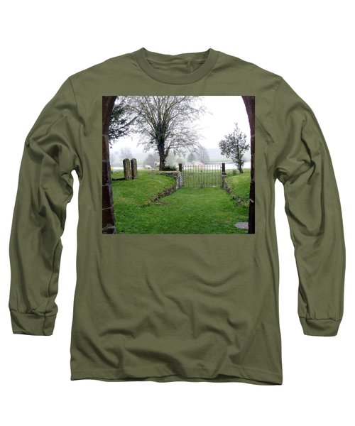 Enter Through The Gates With Singing Long Sleeve T-Shirt