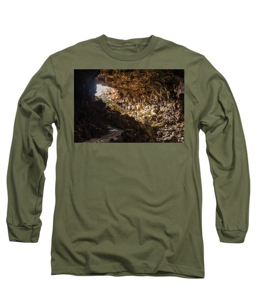 Entrance To Skull Cave Long Sleeve T-Shirt