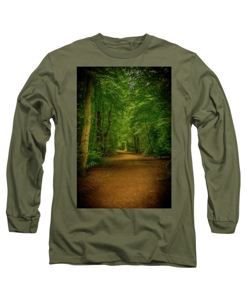 Epping Forest Walk Long Sleeve T-Shirt by David French