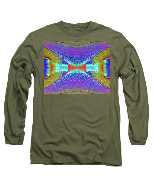 Long Sleeve T-Shirt featuring the photograph Erosion  by Tony Beck