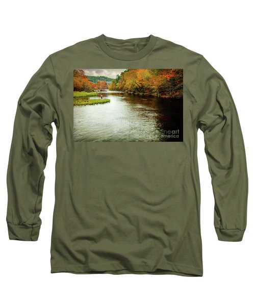 Escape To Beaver's Bend Long Sleeve T-Shirt by Tamyra Ayles