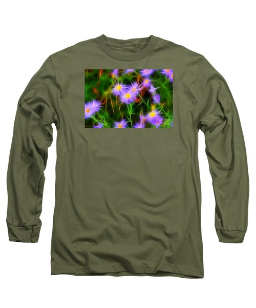 Essence Of Asters Long Sleeve T-Shirt