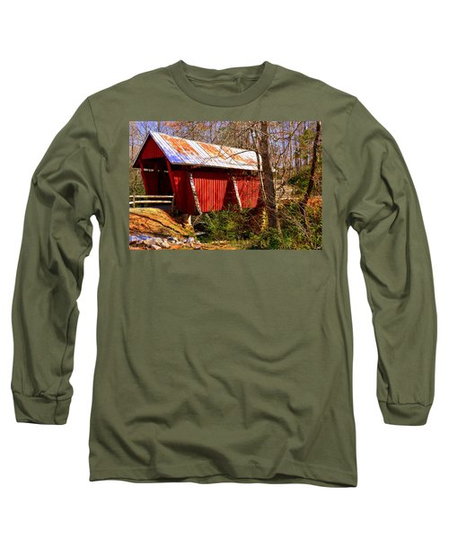 Est. 1909 Campbell's Covered Bridge Long Sleeve T-Shirt