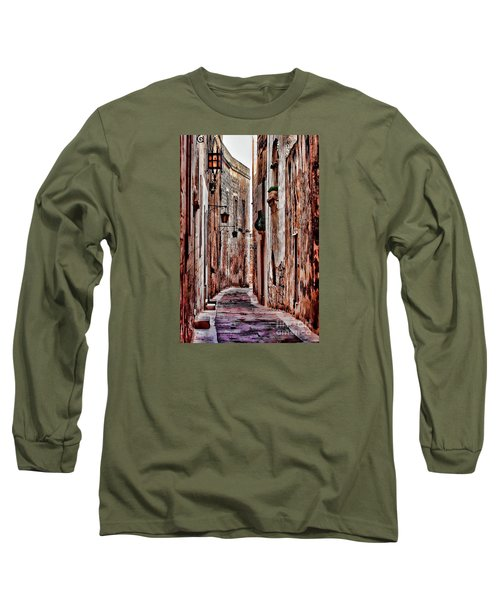 Etched In Stone Long Sleeve T-Shirt by Tom Prendergast