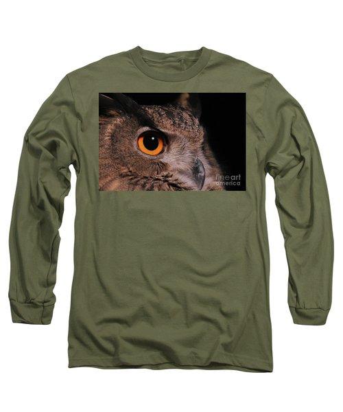 Eurasian Eagle-owl #3 Long Sleeve T-Shirt