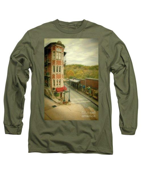Long Sleeve T-Shirt featuring the photograph Eureka Springs by Jill Battaglia