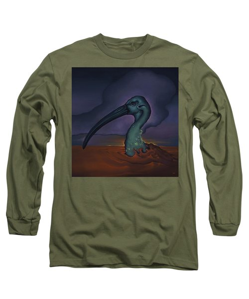 Evening And The Hiss Of Sadness Long Sleeve T-Shirt by Andrew Batcheller