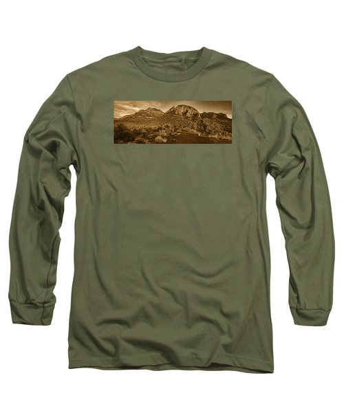 Evening At Dry Creek Vista Tnt Long Sleeve T-Shirt