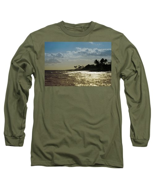 Evening At Poipiu Kauai Long Sleeve T-Shirt