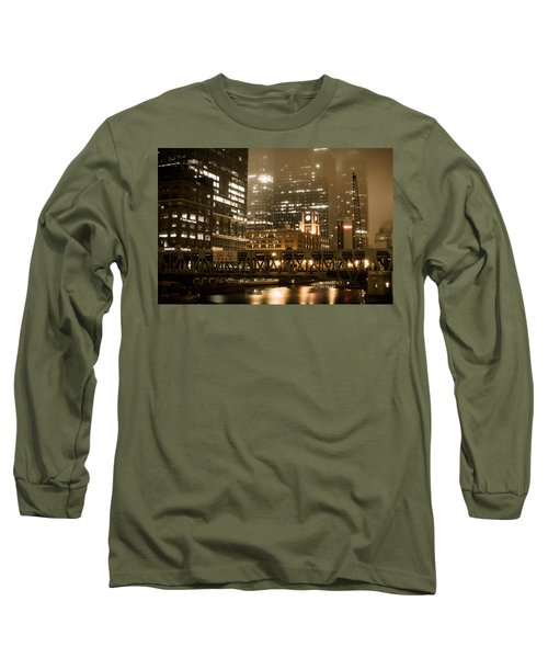 Evening In The Windy City Long Sleeve T-Shirt