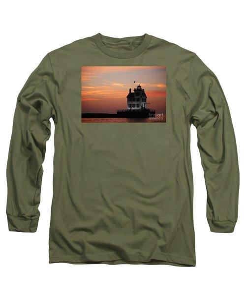 Evening Lighthouse 5 Long Sleeve T-Shirt