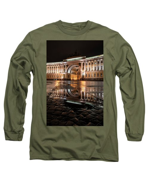 Long Sleeve T-Shirt featuring the photograph Evening Reflections by Jaroslaw Blaminsky