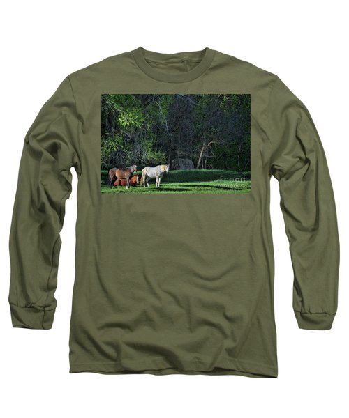Evening Rest Long Sleeve T-Shirt