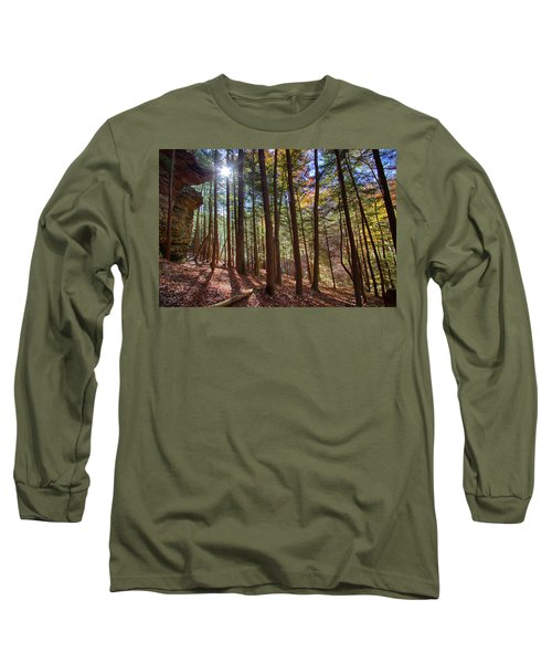 Evening Shadows Long Sleeve T-Shirt