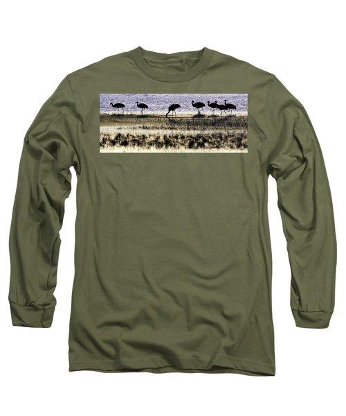 Evening Silhouette Long Sleeve T-Shirt