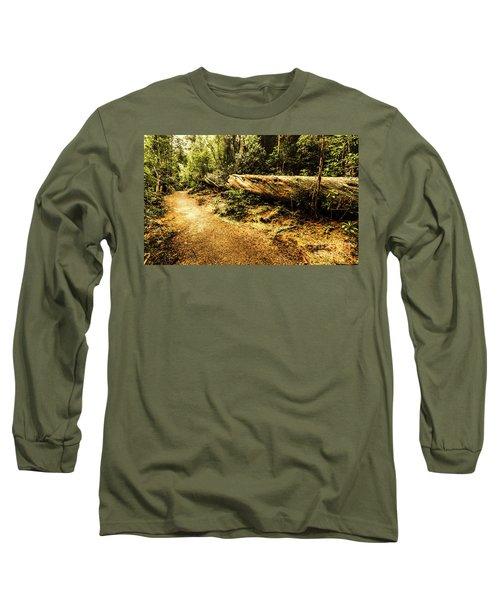 Evergreen Jungle Trails Long Sleeve T-Shirt