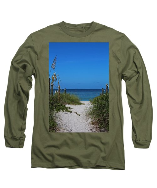 Long Sleeve T-Shirt featuring the photograph Exclusively Captiva by Michiale Schneider