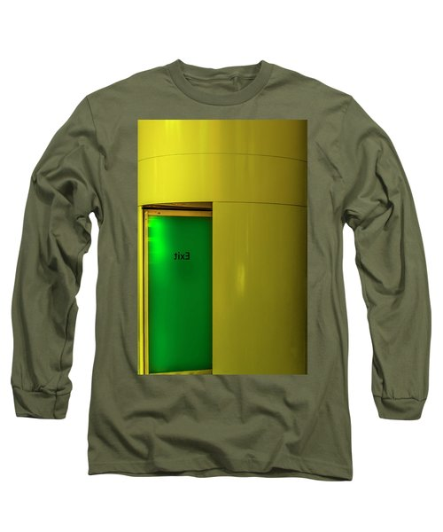 Exit Long Sleeve T-Shirt by Paul Wear