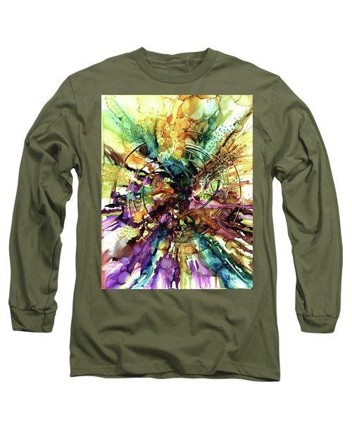 Expanding Universe Long Sleeve T-Shirt by Alika Kumar