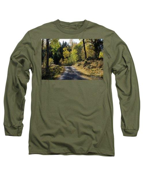 Exploring The Fall Season Long Sleeve T-Shirt