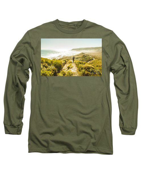 Exploring The West Coast Of Tasmania Long Sleeve T-Shirt