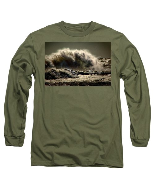 Explosion In The Ocean Long Sleeve T-Shirt