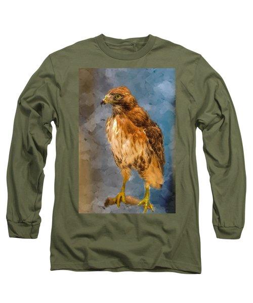 Eye Of The Hawk Long Sleeve T-Shirt