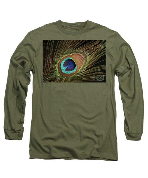 Eye Of The Peacock #11 Long Sleeve T-Shirt