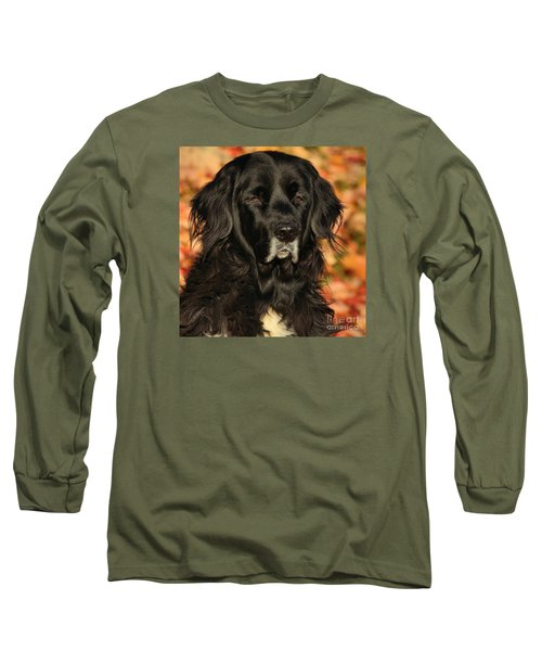 Long Sleeve T-Shirt featuring the photograph Eyes Of Autumn by Debbie Stahre
