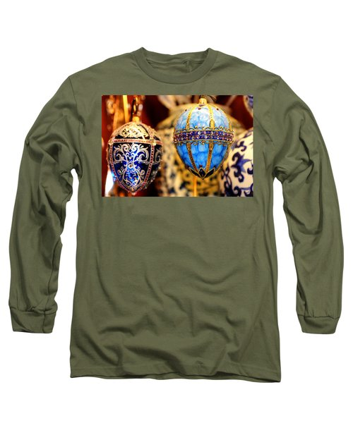 Faberge Holiday Eggs Long Sleeve T-Shirt