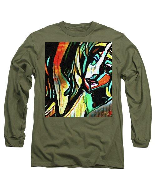 Face #64 Long Sleeve T-Shirt