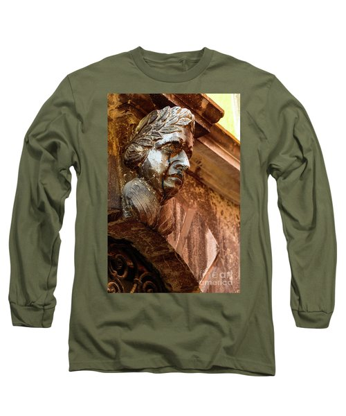 Face In The Streets - Rovinj, Croatia Long Sleeve T-Shirt