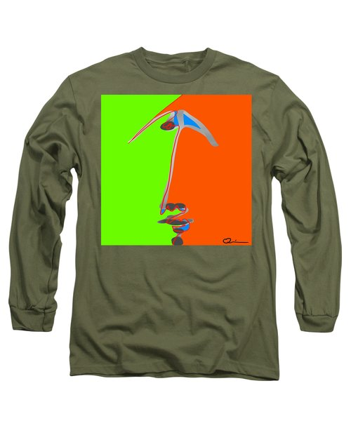 Faces 2 Long Sleeve T-Shirt