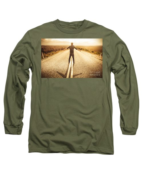Facing Fears While Taking Chances Long Sleeve T-Shirt