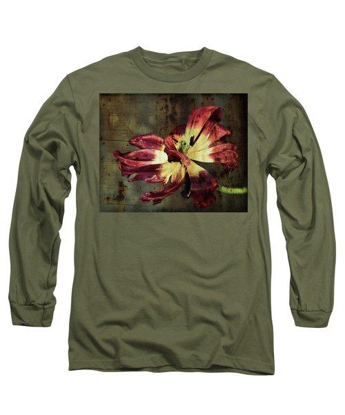 Faded Elegance Long Sleeve T-Shirt
