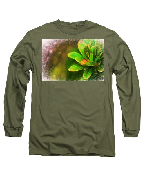 Faded Flora Long Sleeve T-Shirt by Terry Cork