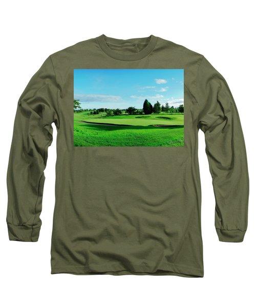 Fairway, Stirling Long Sleeve T-Shirt by Jan W Faul