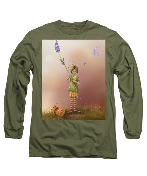 Fairy Bella Lavender Long Sleeve T-Shirt