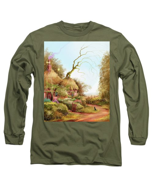 Fairy Chase Cottage Long Sleeve T-Shirt
