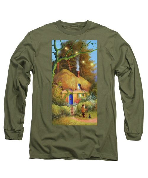 Fairy Cottage Long Sleeve T-Shirt