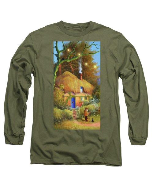Fairy Cottage Long Sleeve T-Shirt