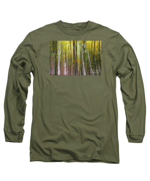 Fairy Forest I Long Sleeve T-Shirt by Yuri Santin