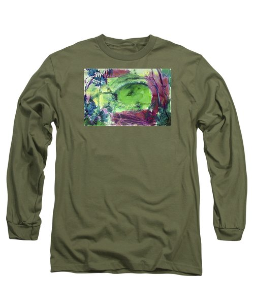 Fairy Ring, Lasso Forest Long Sleeve T-Shirt