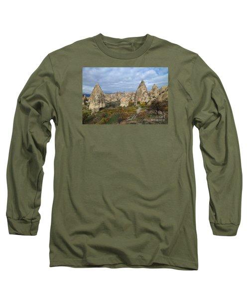 Fairy Tale Of Cappadocia Long Sleeve T-Shirt by Yuri Santin