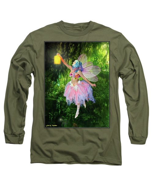 Fairy With Light Long Sleeve T-Shirt